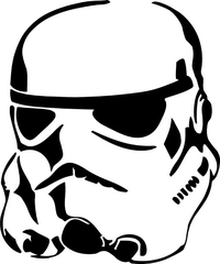 Star Wars Stormtrooper Decal / Sticker 17