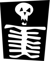 Skeleton Decal / Sticker