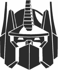 Optimus Prime Decal / Sticker 04