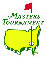 Masters Tournament Decal / Sticker 01