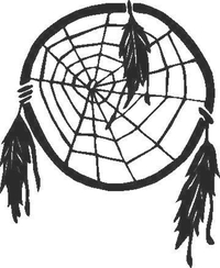 Dream Catcher Decal / Sticker 04