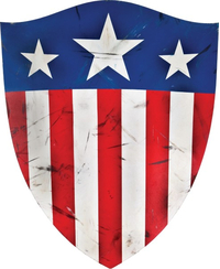 Captain America Original Shield Decal / Sticker 08