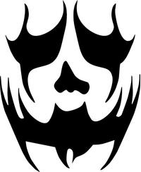 Hatchetman Decal / Sticker 05