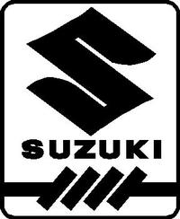 Suzuki Logo Decal / Sticker 03