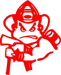 Fire Boy Decal  / Sticker Design 1