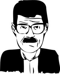Breaking Bad Heisenberg (Walter White) Decal / Sticker 31