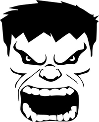 Hulk Decal / Sticker 10