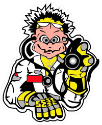 Valentino Rossi The Doctor Decal / Sticker 02