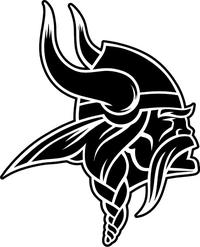 Viking Mascot Decal / Sticker 02