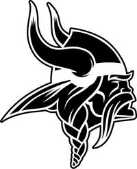 Viking Mascot Decal / Sticker 04