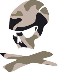 Magpul Skull Decal / Sticker 04
