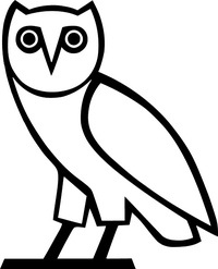 OVO Owl Decal / Sticker 03