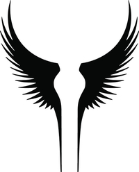 Wings Decal / Sticker 07