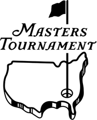 Masters Tournament Decal / Sticker 03