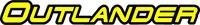 Can-Am Outlander Decal / Sticker 03