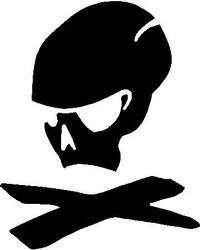 Magpul Skull Decal / Sticker 01