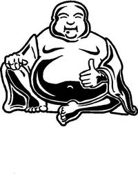Buddha Decal / Sticker