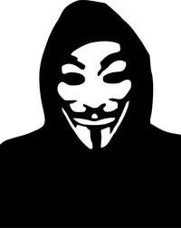 V For Vendetta Anonymous Decal / Sticker