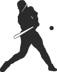 Baseball Player 04 Decal / Sticker