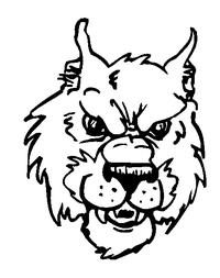 Wolves Mascot Decal / Sticker 2