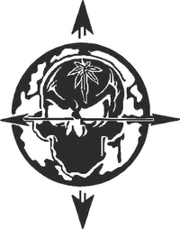 Cypress Skull Decal / Sticker