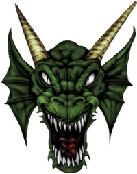 Dragon Decal / Sticker 08