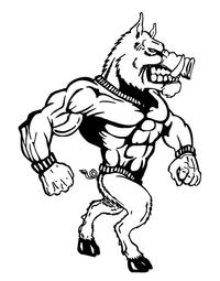 Razorbacks Full Mascots Decal / Sticker 1