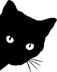Cat Decal / Sticker 10