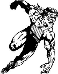 Running Braves / Indians / Chiefs Mascot Decal / Sticker