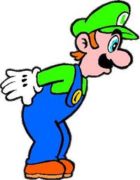 Luigi Decal / Sticker