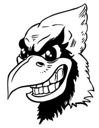 Cardinals Mascot Decal / Sticker 5