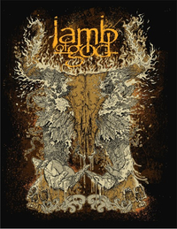 Lamb of God Decal / Sticker 05