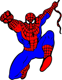 Spiderman Decal / Sticker 03