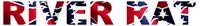 River Rat Confederate Flag Decal / Sticker 01