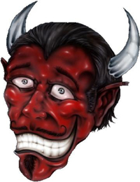 Devil Decal / Sticker