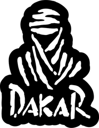 Dakar Rally Decal / Sticker 04