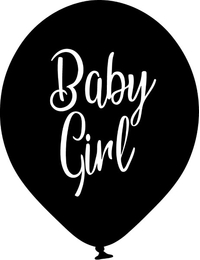 Baby Girl Balloon Decal / Sticker 02