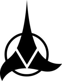 Klingon Empire Decal / Sticker 02
