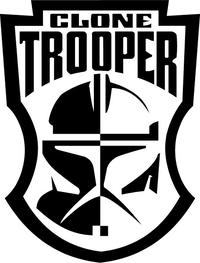 Clone Trooper Decal / Sticker 01