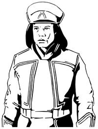 Captain Panaka Decal / Sticker 01