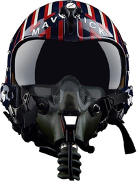 Top Gun Maverick Helmet Image Decal / Sticker 03