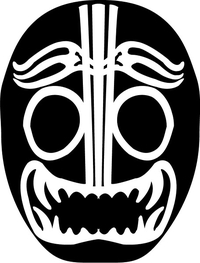Mil Mascaras Decal / Sticker 02