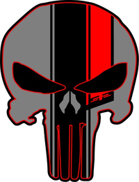 #52 Punisher Decal / Sticker 168