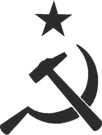 Hammer and Sickle Decal / Sticker