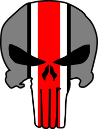 Ohio State Punisher Decal / Sticker 143
