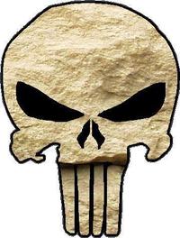 Rock Punisher Decal / Sticker 11