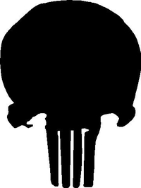Punisher Decal / Sticker 26