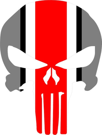 Ohio State Punisher Decal / Sticker 38