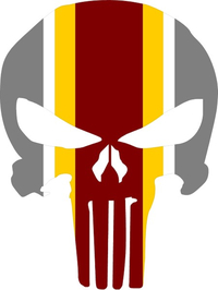 Iowa State Punisher Decal / Sticker 42