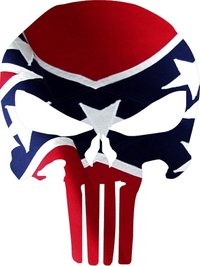 American Flag Punisher Decal / Sticker
